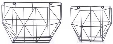 Homede Cuna Basket Set Black 2pcs