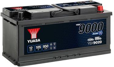 Аккумулятор Yuasa, 12 В, 105 Ач, 950 а