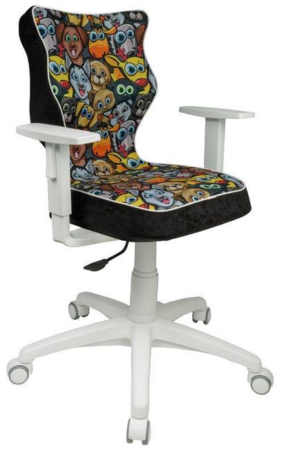 Детский стул Entelo Duo ST28, черный, 370 мм x 1000 мм