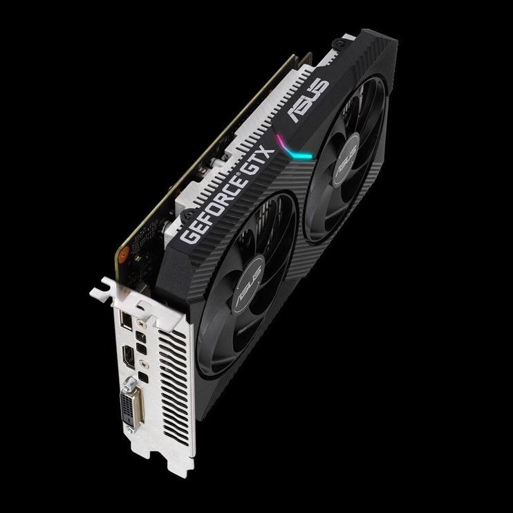 Asus Dual GeForce GTX 1650 Mini OC 4GB GDDR6 PCIE DUAL-GTX1650-O4GD6-MINI