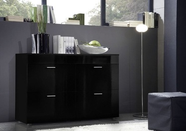 ASM Logo Chest Of Drawers Black
