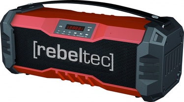 Belaidė kolonėlė Rebeltec SoundBox 350 Bluetooth Speaker Red