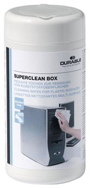 Durable Superclean Box Cleaning Wipes For Plastic Surfaces 100pcs