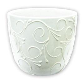 Askovita Ceramic Flower Pot VETMAB-3 D14.5 White