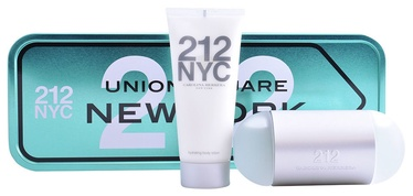Carolina Herrera 212 NYC 100ml EDT + 100ml Hydrating Body Lotion