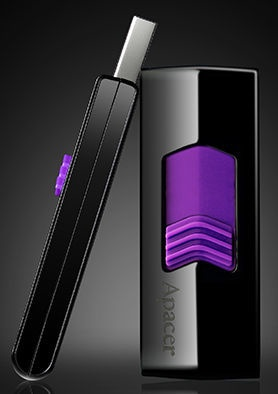 USB atmintinė Apacer AH332 Purple, USB 2.0, 16 GB