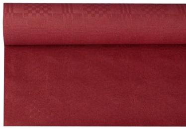 Pap Star Tablecloth 8 x 1.2m Bordo