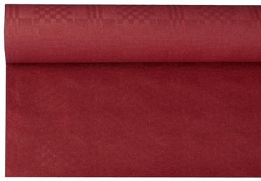 Pap Star Tablecloth 8 x 1.2m Bordo