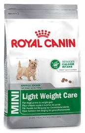 Sausas ėdalas šunims Royal Canin SHN Mini Light Weight Care, 2 kg