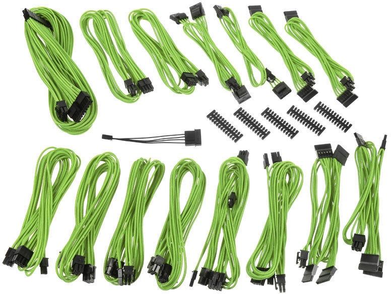 BitFenix Alchemy 2.0 EVG PSU Cable Green