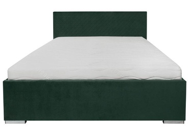 Black Red White Syntia Bed 160 Green