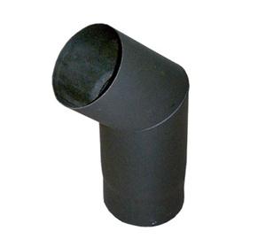 Dūmtraukio alkūnė ABX, 130 mm, 1.5 mm, 45°