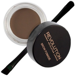 Makeup Revolution London Brow Pomade With Double Ended Brush 2.5g Ash Brown