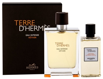 Hermes Terre D Hermes Eau Intense Vetiver 100ml EDP + 80ml Shower Gel