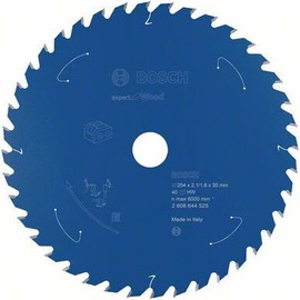 Bosch Expert for Wood Circular Saw Blade 254x30x2.1mm