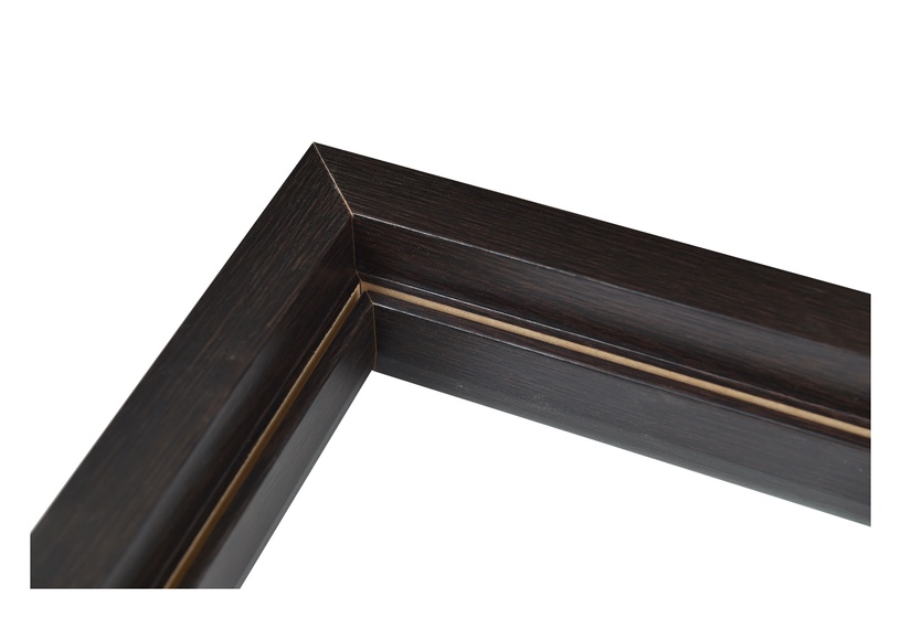 Vertikali durų stakta Everhouse, kairinė, ruda, 44 x 90 x 2066 mm