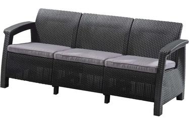 Corfu Love Seat Max Garden Sofa Grey