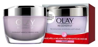 Veido kaukė Olay Regenerist Milagro Overnight Miracle Firming Mask, 50 ml