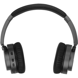 Vivanco Aircoustic BT Premium On Ear Headphones w/ Active Noise Cancelling Black
