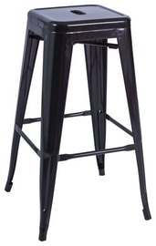 Signal Meble Hoker Long Bar Stool Black