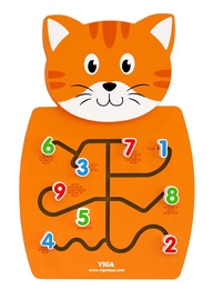 Viga Wall Toy Kitten Matching Numbers 50676