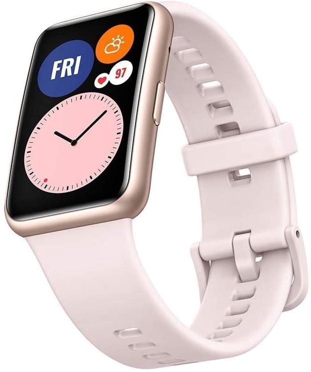 Išmanusis laikrodis Huawei Watch Fit, rožinė