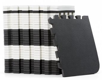 Kinderkraft Luno Mat Foam Puzzle Black