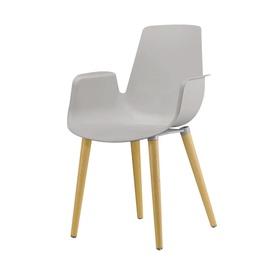 Valgomojo kėdė PP-658C, pilka