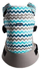 Zaffiro Care Carrier Blue ZigZag