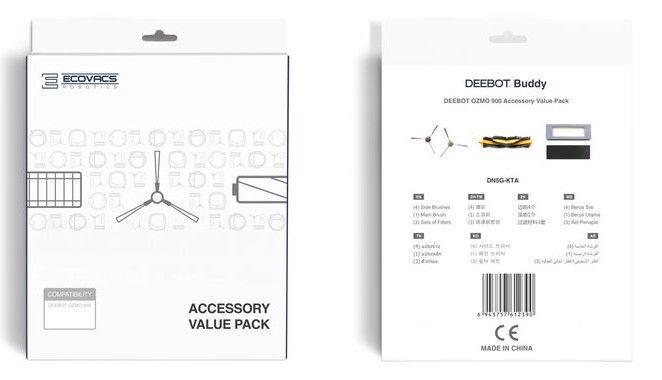 Наборы Ecovacs Deebot Buddy DN5G-KTA Accessory Set
