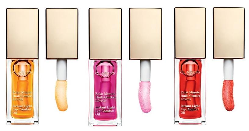 Бальзам для губ Clarins Instant Light Lip Comfort Oil Red Berry, 7 мл