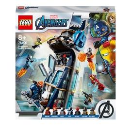 Конструктор LEGO®Super Heroes Marvel Битва за башню Мстителей 76166