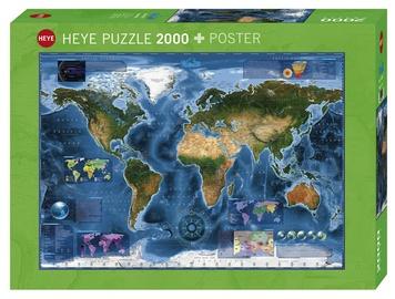 Dėlionė Heye Satellite Map, 2000 dalių