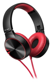 Pioneer SE-MJ722T Headphones Red