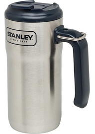 Stanley Adventure Vacuum Mug With Handle 0.47l Steel Black