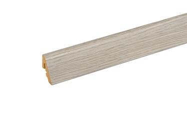 Põrandaliist tamm valge 18,5x38,5x2400mm