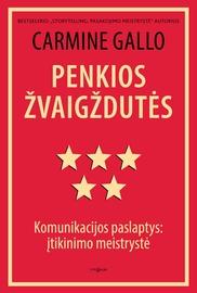 Knyga Penkios žvaigždutės. Komunikacijos paslaptys: įtikinimo meistrystė