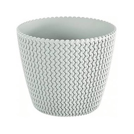 Prosperplast Indoor Plant Pot 25.9x22cm White
