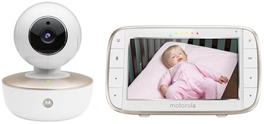 Motorola MBP855CONNECT Wi-Fi Video Baby Monitor White