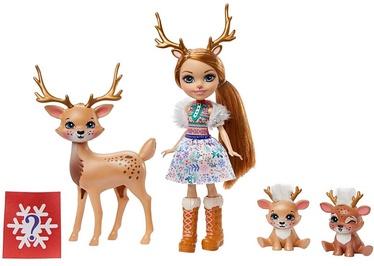 Кукла Mattel Enchantimals Rainey Reindeer Doll & Family