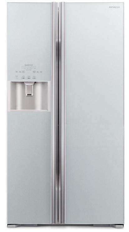 Šaldytuvas Hitachi R-S700GPRU2 (GS) Glass Silver