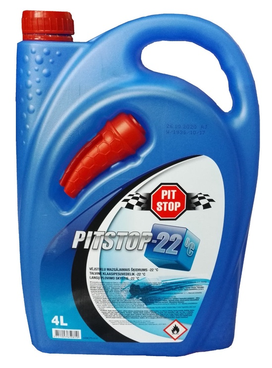 Pitstop Winter Windshield Cleaner 4l