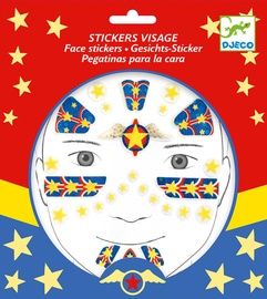 Djeco Superhero Face Stickers DJ09219