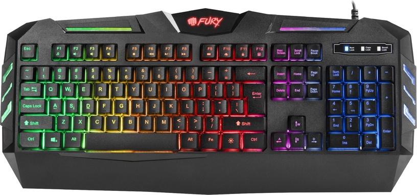 Игровая клавиатура Fury Spitfire EN