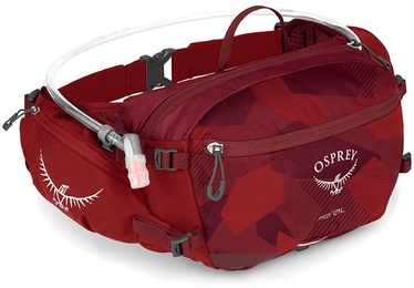 Osprey Seral 7 Hydration Waist Bag Molten Red