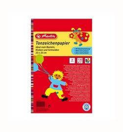 Värviline kartong, Herlitz, 20 lehte, A4