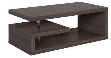 Black Red White Glimp Coffee Table Wenge