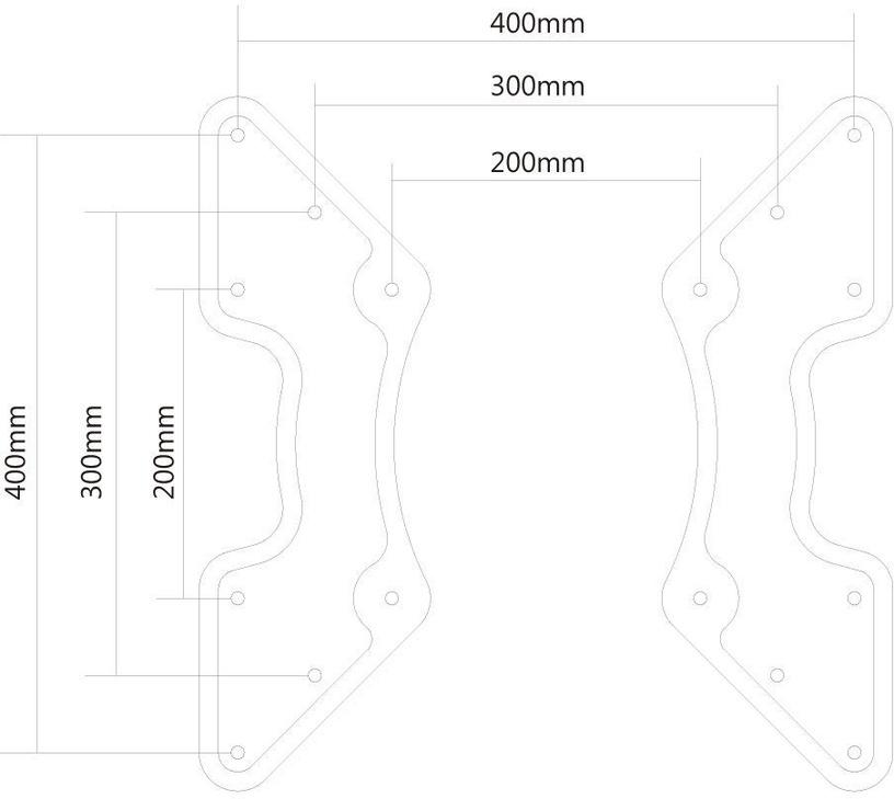 NewStar VESA Adapter Plate FPMA-VESA440