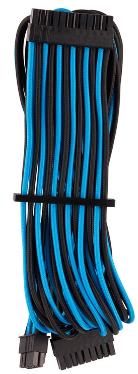 Corsair Premium Sleeved 24-pin ATX cable Type 4 Gen 4 Blue/Black