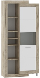 Tuckano Ultra Shelf Unit 910x1960x420mm Oak/White
